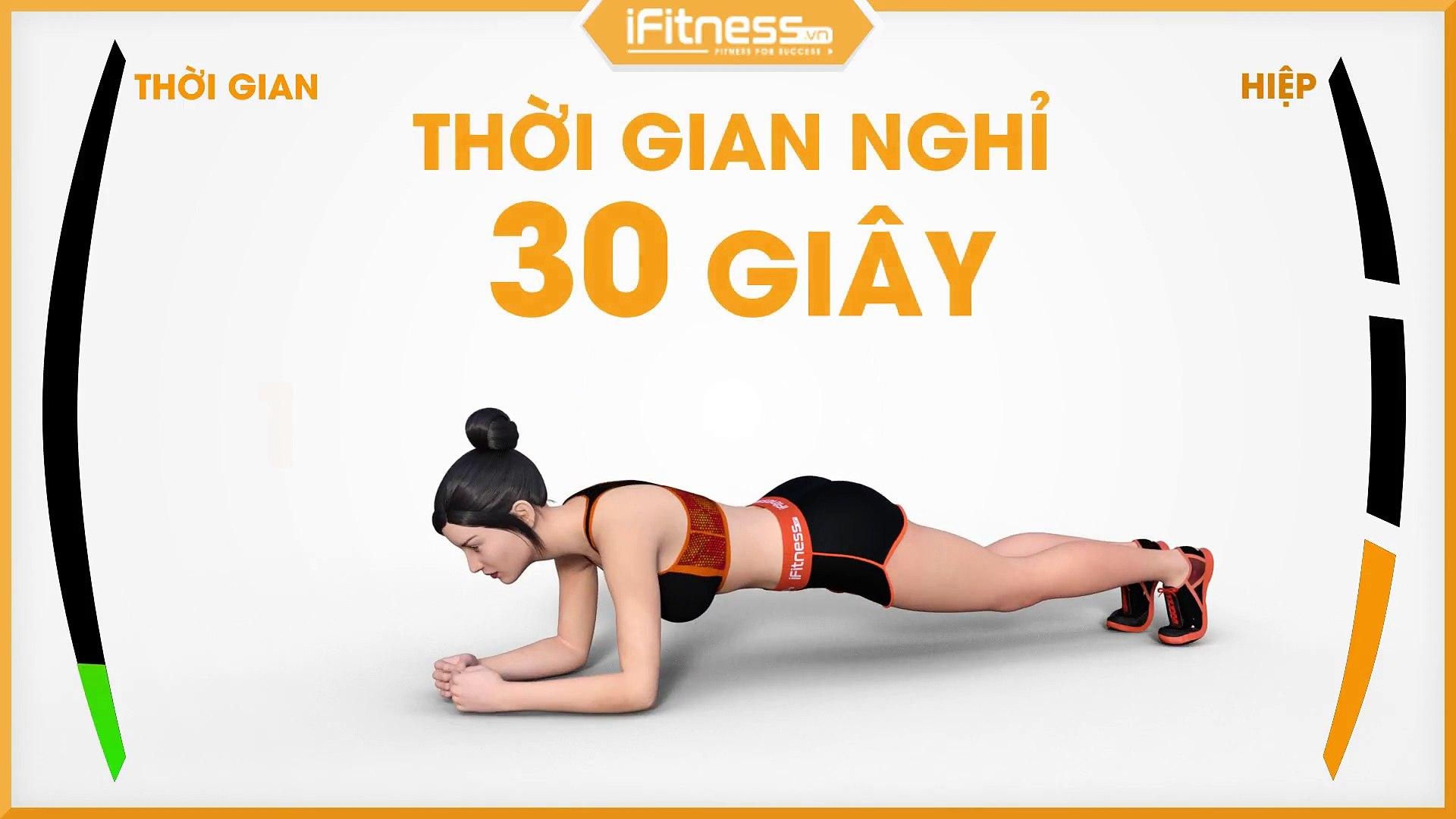 Plank To Push Up   Bài tập cho cơ bụng và vai   iFitness.vn