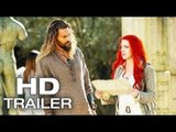 AQUAMAN Comic Con (FIRST LOOK - Teaser Trailer) 2018 Jason Momoa Superhero Movie HD
