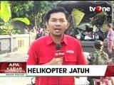 Proses Evakuasi Helikopter Bell 205 yang Jatuh di Yogyakarta