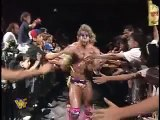 Ultimate Warrior vs Undertaker WWF 1991 - WWE WWF Wrestling Fight Fighting Match Sports