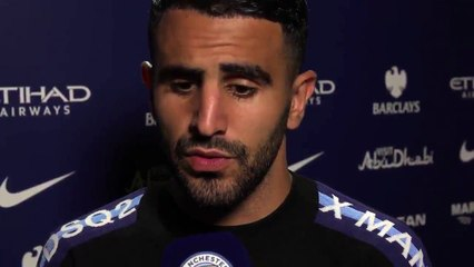 Réaction de Mahrez après son premier match