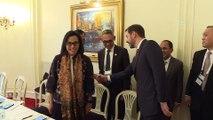 Albayrak'tan Buenos Aires'te yoğun mesai - (Endonezya ve Almanya Maliye Bakanı ile görüşme) -  BUENOS AIRES