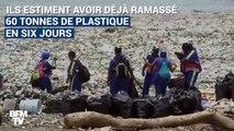 Saint-Domingue est submergée par des vagues de déchets plastiques