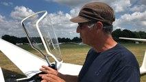 Un tour en planeur avec le club de vol à voile Yonnais