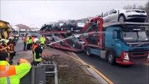 Voilà comment les pompiers allemands punissent les automobilistes curieux de filmer lors de leurs interventions