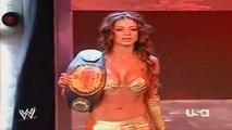 John Cena & Candice vs Umaga, Cade & Murdoch Raw July 23, 2007