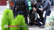 Le rôle d'Alexandre Benalla auprès d'Emmanuel Macron avait-il vraiment changé après sa sanction ? Des images pointent les contradictions de l'Elysée