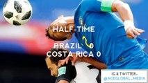 Brazil 2 - 0 Costa Rica (Russia 2018 World Cup Football Highlights - 24th Match)