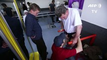 In Damascus, war amputees walk again on Syrian-made prosthetics