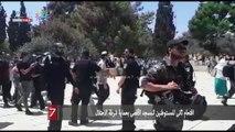اقتحام ثانى للمستوطنين للمسجد الأقصى بحماية شرطة الاحتلال