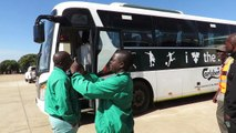 Junior Flames Make Subdued Arrival at Nkoloma Stadium01/07/18Zambia Vs MalawiVenue: Nkoloma Stadium Kickoff: 15:00 hoursThe junior flames have made a