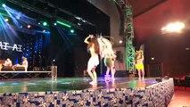 Farereiraa i tahiti! Concours international de danse Tahitienne, à la maison de la culture, sur deux jours (lundi 16 et mardi 17) ! Ce matin concours solo. 200