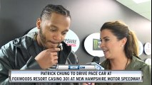 Patrick Chung excited to drive pace car at Foxwoods Resort Casino 301