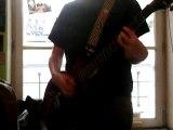 petit morceau de guitare électrique