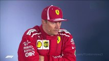 F1 2018 German GP - Post Race Press Conference