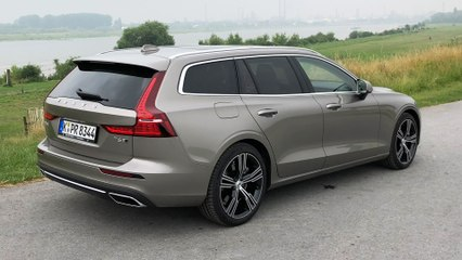 Volvo V60 T6 AWD - Review & Test Drive with the new Premium Sport Estate