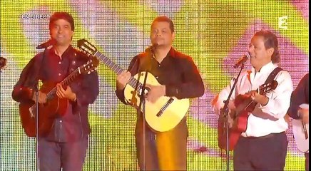 Chawki Ft.  Kenza Farah, Enrico Macias and Chico & Gypsies - Medley (Fête de la Musique) | شوقي