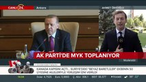 AK Parti MYK'nın ilk konusu 18 Ağustos'ta yapılacak olağan kongre