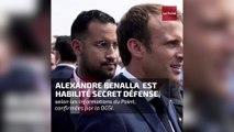 Alexandre Benalla était habilité secret défense depuis 2017
