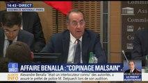 """Affaire Benalla: """"La première fois que j'ai rencontré l'intéressé c'est l'avant-veille ou trois jours avant le deuxième tour de la présidentielle"""", raconte Michel Delpuech"""