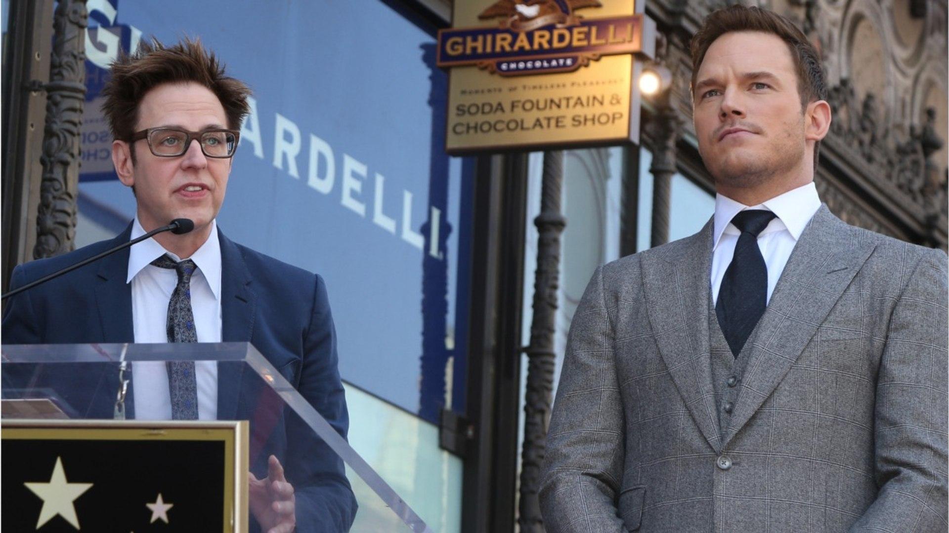 Chris Pratt Goes Biblical For Gunn