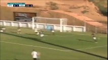 Cortiba's U-17 players with a hilarious miss!