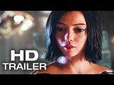 ALITA BATTLE ANGEL (FIRST LOOK - Official Trailer #2) 2018 James Cameron Sci Fi Movie HD