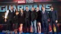James Gunn Firing: 'Guardians of the Galaxy' Stars React | THR News