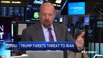 This is a market defined by earnings and tweets, says Jim Cramer