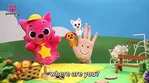 Savanna Finger Family | Finger Puppets | Pinkfong Plush | Pinkfong Songs for Children