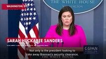 Sarah Huckabee Sanders: Trump Considering Revoking John Brennan's Security Clearance