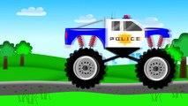 Monster Truck Police _ Policja | Bajki o Policji dla Dzieci