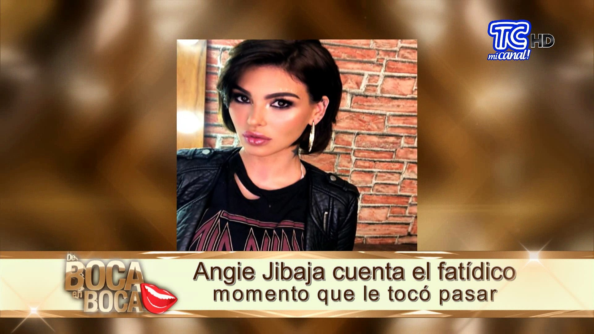 Angie Jibaja angie jibaja cuenta el fatídico momento que le tocó pasar