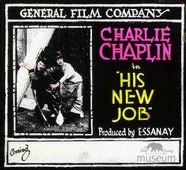 Charles Chaplin's His New Job (1915)