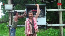 Electricity brings back smiles on the faces of villagers of Deori