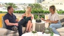 Ian Ziering Talks Working With Tori Spelling Again