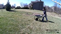 A Day in the Life of Laying Down Sod -  Time Lapse