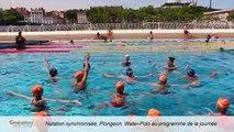 Les nageurs lyonnais accueillent l'équipe de France de Natation - GENERATION NATATION