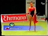 Agnieszka BRANDEBURA (POL) ribbon - 1999 Ludwigsburg masters EF
