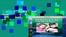 Popular  AWHONN s Perinatal Nursing (Simpson, Awhonn s Perinatal Nursing)  E-book