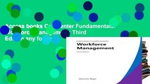 Access books Call Center Fundamentals: Workforce Management: Third Edition any format