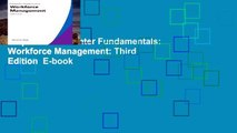 Popular  Call Center Fundamentals: Workforce Management: Third Edition  E-book