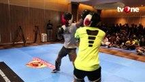 Aksi Para Petarung di Audisi One Pride MMA Surabaya