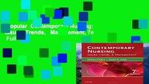 Popular  Contemporary Nursing: Issues, Trends,   Management, 7e  Full