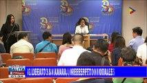 Ombudsman Morales, nagpasalamat sa suporta at tiwala ng publiko