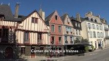 Stage Carnet de Voyage à Vannes et le golfe du Morbihan en 2018.