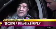Diego Maradona s'affiche complètement ivre à la télé argentine