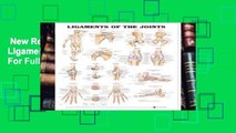 New Releases Anatomical Chart Ligaments of the Joints  For Full