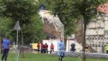 Beyoğlu'nda bina çökmesi - Olay yerinden görüntüler - İSTANBUL