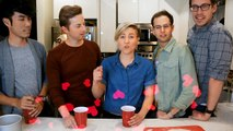 My Drunk Kitchen: Pizza Cake ft. THE TRY GUYS! (Part One. Ned)